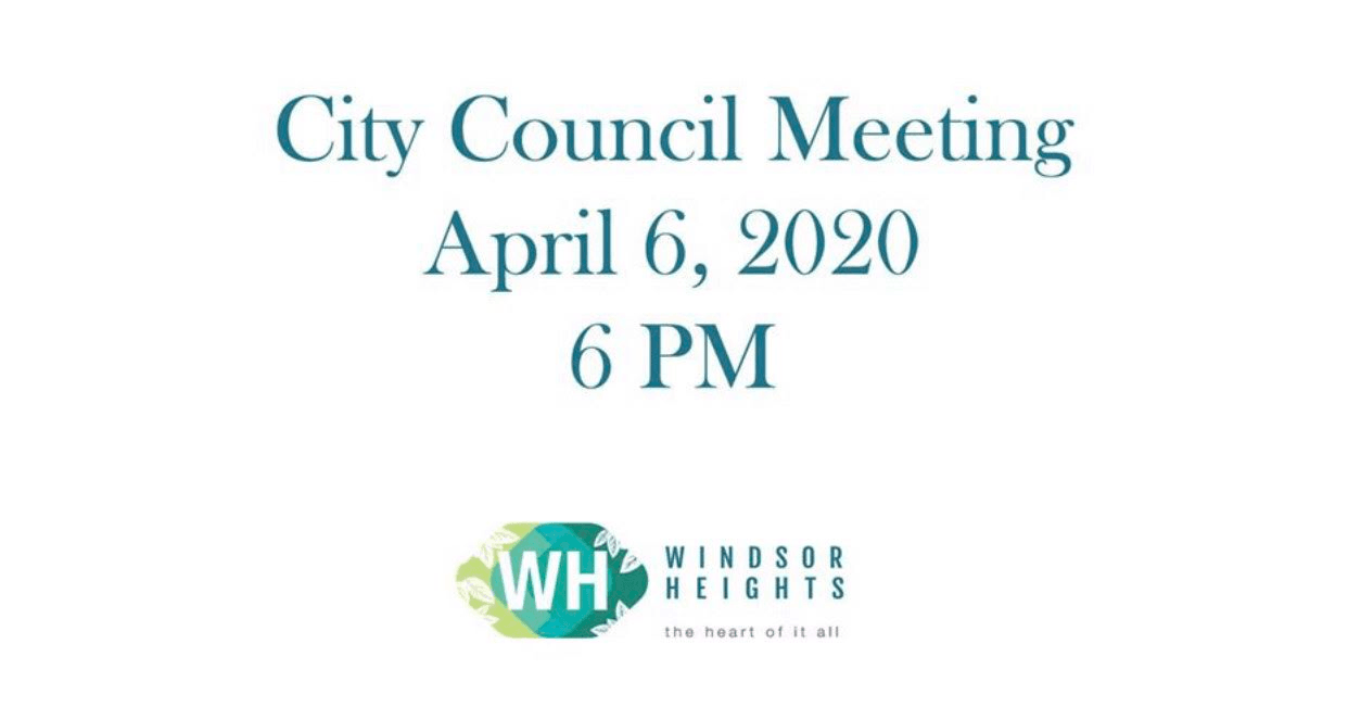 4-6-20 city council meeting on Zoom