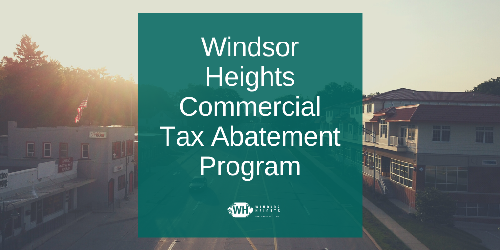 commercial tax abatement