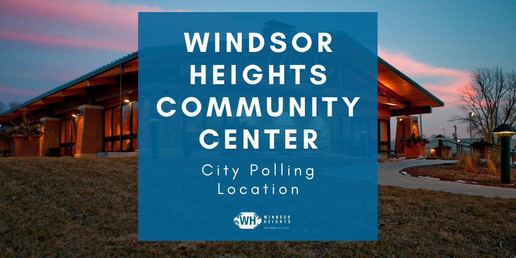 polling location windsor heights community center