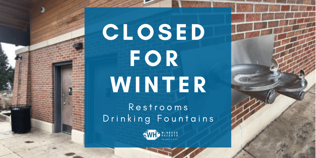 park restrooms closed