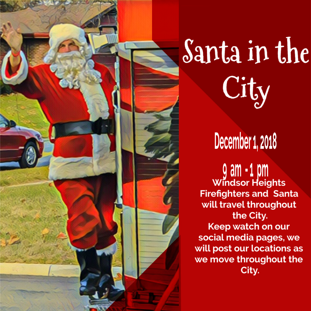 Santa in the City Flyer 3
