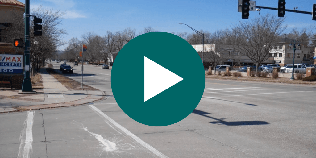 University Ave Construction Video