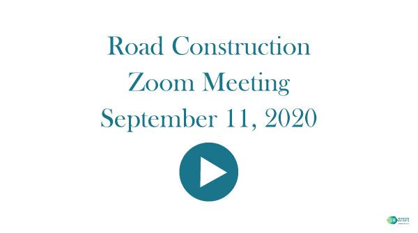9-11-20-Road-Construction meeting video Opens in new window