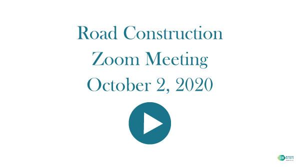10-2-20-Road-Construction meeting video